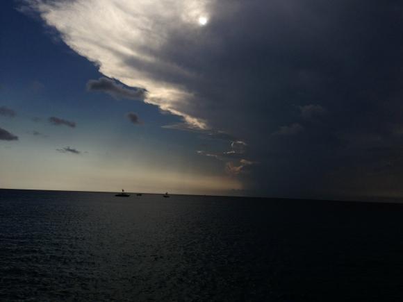 Caribbean Sky by Davidicus Wong