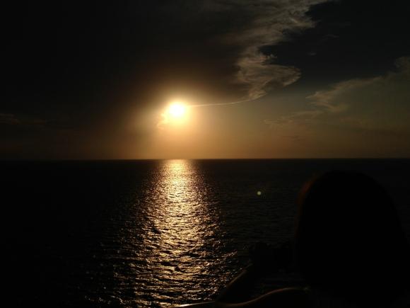 Caribbean Sunset by Davidicus Wong