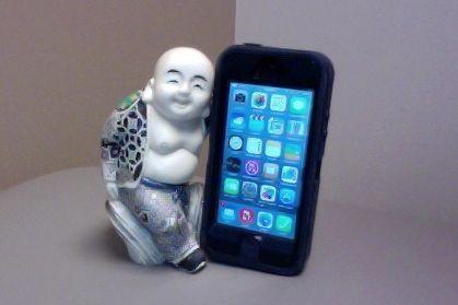 Buddha & the iPhone - Davidicus Wong