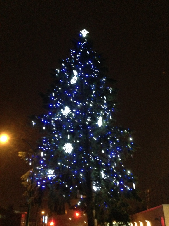 Christmas tree at the Edmonds Community Centre, Burnaby - Davidicus Wong
