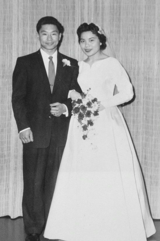 Mom & Dad's Wedding Photo