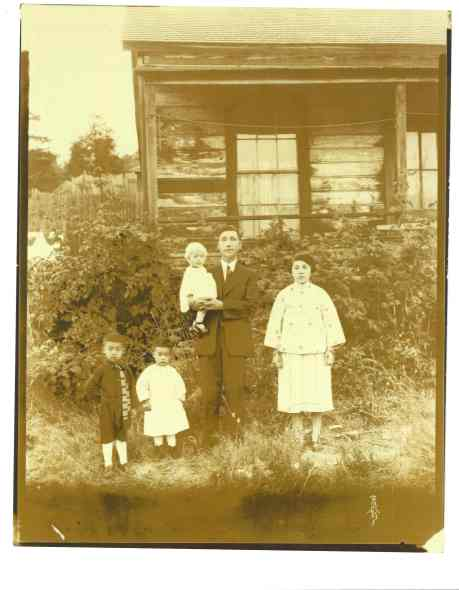 Dad's family & home in Cumberland before his birth in 1930